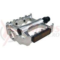 Pedale Union SP-160 AM 1-piece aluminiu argintiu filet 9/16