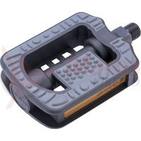 Pedale Union SP-801 non-slip plastic/cauciuc negre