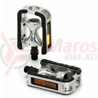 Pedale XLC City-/Comfort-Pedal PD-C01 Alu Rubber Plating SB-Plus