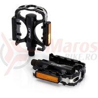 Pedale XLC MTB-Pedal PD-M02 Alu body CNC-Cage black