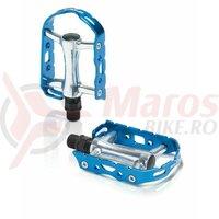 Pedale XLC MTB-Pedal Ultralight V PD-M15 Alu Silver/Blue