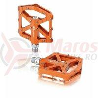 Pedale XLC MTB/Trekking Pedal PD-M12 Alu orange