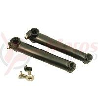 Pedalier - Altrix - BMX, CroMo, 170mm, ronduluit, fara placa
