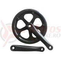 Pedalier Prowheel 48T 170 mm protectie dubla negru