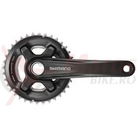 Pedalier Shimano FC-MT700-2 36x26T brat 175 mm 11v fara BB
