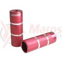 Peguri Zoom PD-AL-05-2SK ax 14 mm L 110 mm rosii