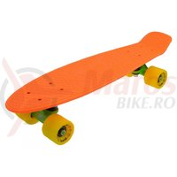 Penny Board Slv Neon 22 inch portocaliu cu galben