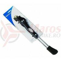 Picior sprijin Ostand CD-109X, alu, prindere mijloc, pentru biciclete 26