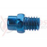 Pini pedale Exustar Al 7075 T6 albastru anodizat 40 buc.