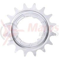 Pinion Shimano 18T 2.3 mm pentru butuc cu viteze interne argintiu vrac