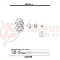 Pinion Shimano CS-HG50-10 11t pt. BK-GROUP