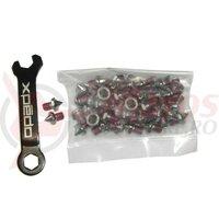 Pinset Xpedo Spike-Type, thread 4,5mmm, hight 5mm