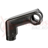 Pipa A-Head Ergotec Barracuda alu., black, 1 1/8