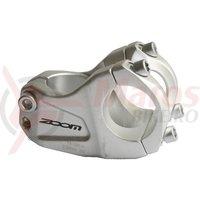 Pipa DH Zoom AL408-8 31.8 unghid 30 grade L50 mm argintie