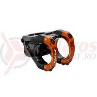 Pipa Funn Equalizer, 31,8mm, ridicare 10, 1-1/8, Ext:42mm, negru/portocaliu, AM