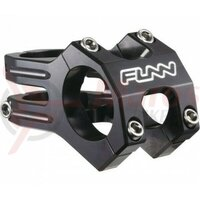Pipa Funn Funnduro 31,8mm, 35mm, ridicare 0, 1-1/8, neagra