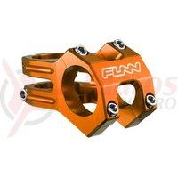Pipa Funn Funnduro DJ 31,8mm +0grade L45mm portocaliu anodizat