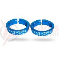 Piulita de strangere set PRO for gap caps/handlebar endplugs blue