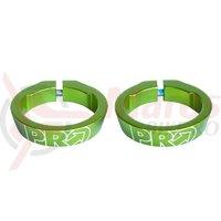 Piulita de strangere set PRO for gap caps/handlebar endplugs green