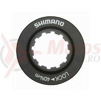 Piulita Shimano centerlock aluminiu neagra