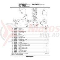 Piulita Shimano SM-RT98 pentru center lock & saiba