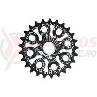 Placa BMX Eastern Bikes Medusa 25T black