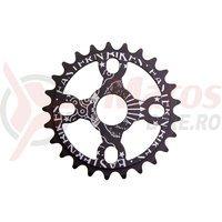 Placa BMX Eastern Bikes Medusa Light 25T black