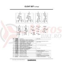 Placa din talpa pentru placute de pedale Shimano SH-R130 1 PC