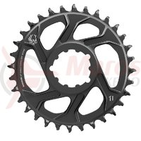 Placa pedalier Sram X-Sync2 Eagle Boost 11/12v. 34T neagra otel 3 mm offset
