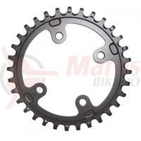 Placa Sram Chain Ring XX1 76 AL6 ZRGRY 34T