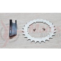 Placa Truvativ HammerSchmidt Chain Ring / Guide 24T Kit