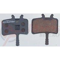 Placute frana Alligator - BP012, semi metalic dual, tehnologie Thermguard, +arc