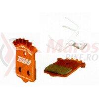 Placuta frana Alligator - TB036, turbo cool semi metalic dual, Thermguard, +arc