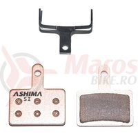Placute Ashima AD0102 sintetice Shimano Deore