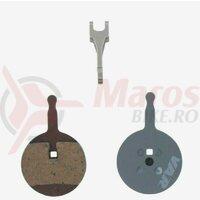 Placute de frana organic for Avid BB3, BB5, Promax DSK-710, Var Tools