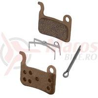 Placute de frana Shimano BRM975 metalice cu arc