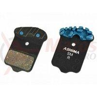 Placute frana Ashima AT0704, Air Thermal, semi-metalice, compatibile Avid Elixir R