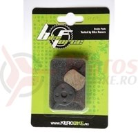 Placute frana disc - Pro. DSK-400/DSK-601/J X NINE negru mat