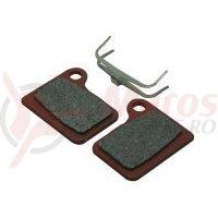 Placute frana disc semi-metalice Fibrax ASH992E pentru DEore BR-M555