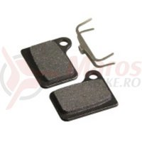 Placute frana disc semi-organice Fibrax ASH992  pt Shimano Deore Hydraulic  BR-M555/556  Nexave C900/901 C