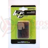 Placute frana disc - Tektro/caliper mecanic negru mat