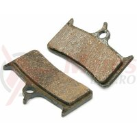 Placute Frana - semi metalic dual, Thermguard, +arc - compatibil Shimano Deore XT( M755), Grimeca 8, Sram, Hope Mono M4 - Alligator BP006