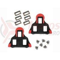 Placute papuci Shimano SM-SH10 negru/rosu