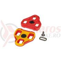 Placute pedale RFR Look Keo rosii float 7 grade