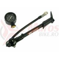 Pompa DT Swiss Shock Pump 20 Bar / 300 PSI Gauge Red/black