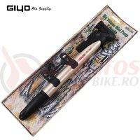Pompa mini alu Giyo GP-71 aurie de mare volum mini manometru