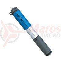 Pompa mini Topeak Race Rocket argintie-albastra