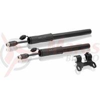 Pompa mini XLC Road PU-M04 11 bar black plastic 250mm DV/SV/AV