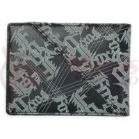 Portmoneu Fox M-E-Accessories Slipstream Leather Wallet black