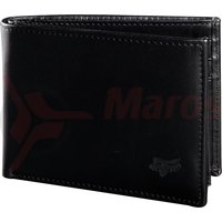 Portofel Bifold Leather Wallet [blk]